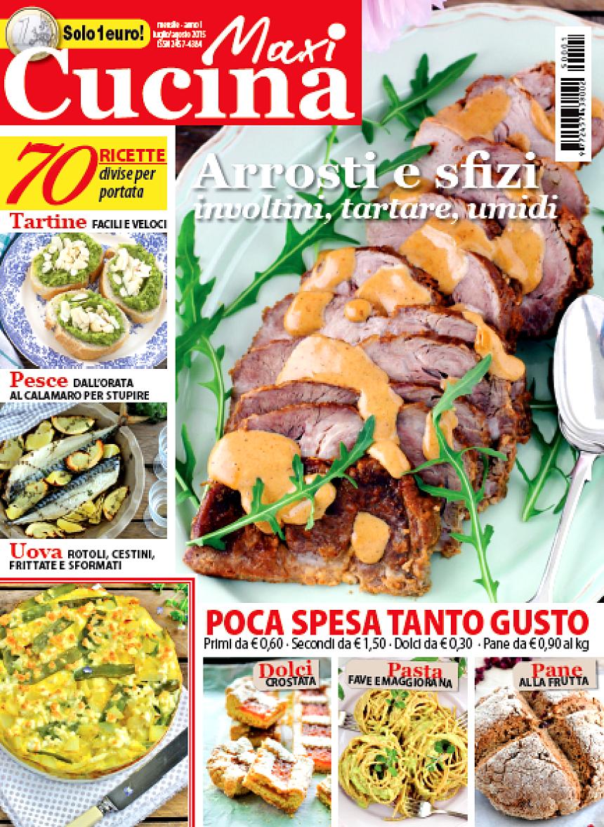 vi racconto di una nuova rivista food maxi cucina