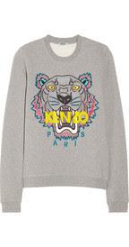 У свитшот кензо с тигром ровные зубы купить платки hermes в интернет магазине