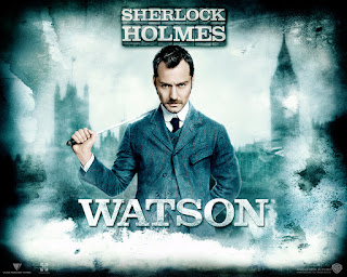 Jude Law as Watson Poster Sherlock Holmes A Game of Shadows HD Wallpaper