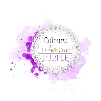 Lemon Craft Challenge Colours - purple