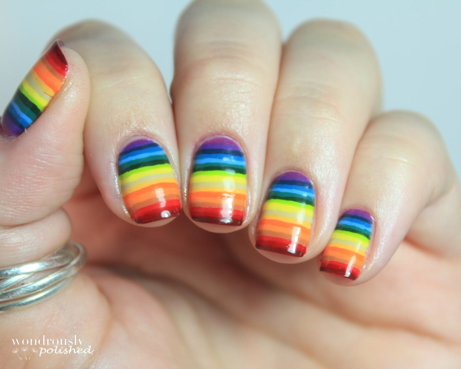 Easy Rainbow Nail Designs | 2017 - 2018 Best Cars Reviews