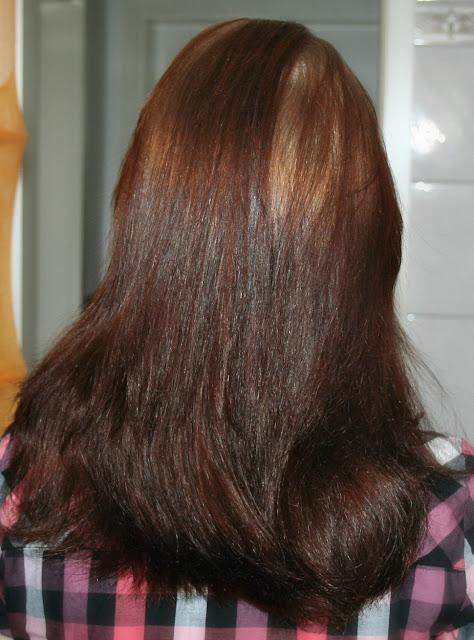 Painting haare braun