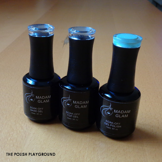 Madam Glam Beginners Soak-Off Gel Polish Kit Review & Swatches