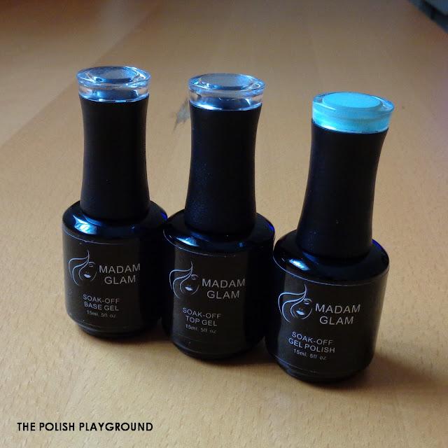 Madam Glam Beginners Soak-Off Gel Polish Kit Review & Swatches