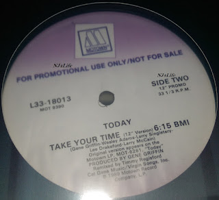 Today – Take Your Time (Pomo VLS) (1989)