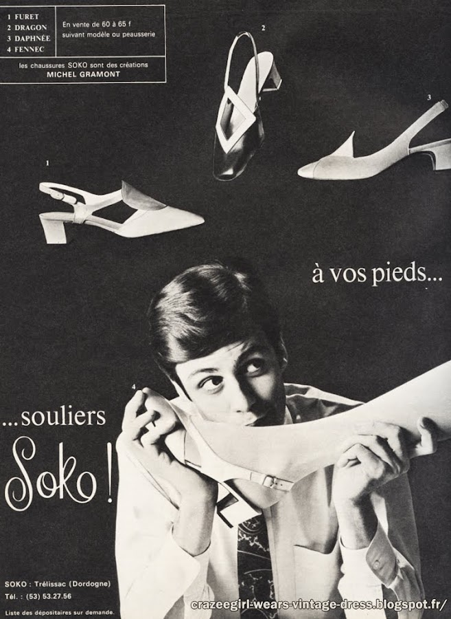 Shoes - Bally , Renast , Soko 1967 mod 60s 1960 twiggy skateboard Michel Gramont