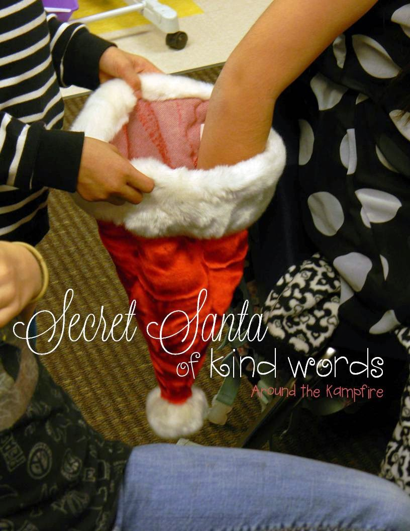 Promoting classsroom kindness with Secret Santa of Kind Words