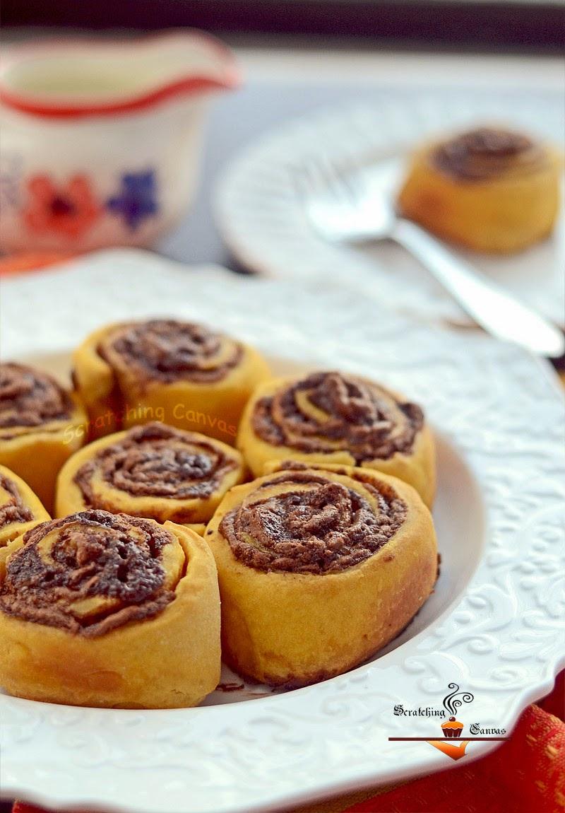 Pumpkin Cinnamon Roll Popovers Recipes — Dishmaps