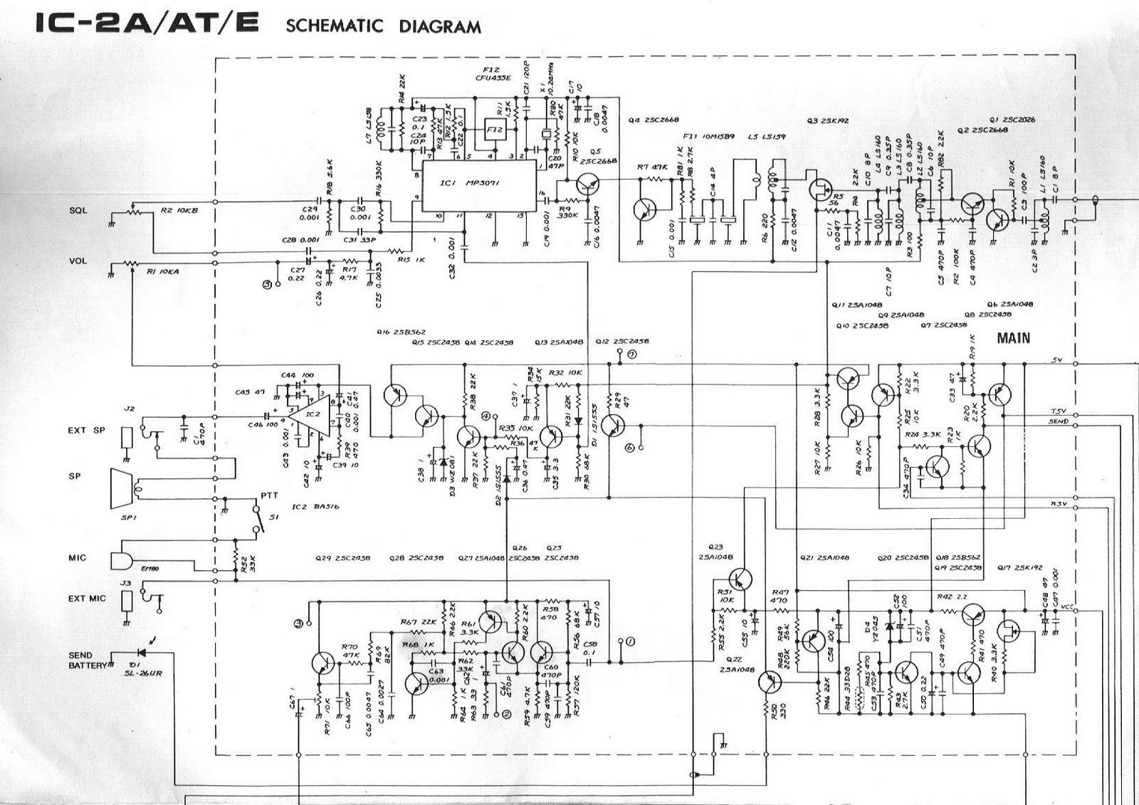 Icom Sm 20 Schematic Auto Electrical Wiring Diagram Alinco Mic Ic2n Diy Enthusiasts Diagrams Schematics Heathkit
