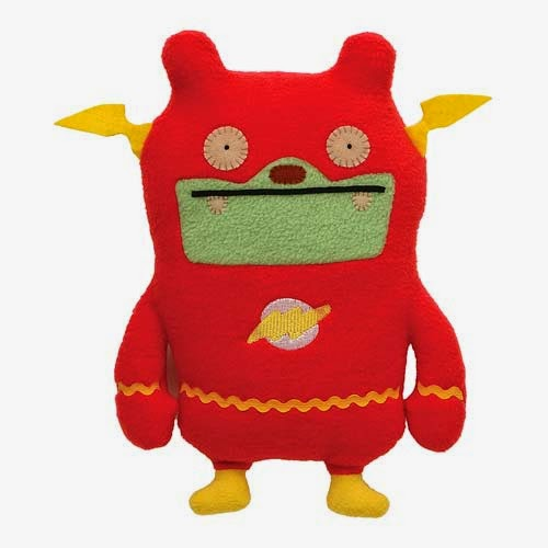 DC Comics x UglyDoll Plush Figures Wave 3 - Flash Jeero