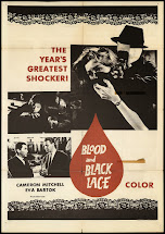 Black Lace and Blood Poster