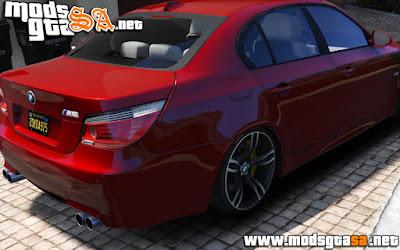 V - BMW M5 E60 para GTA V PC