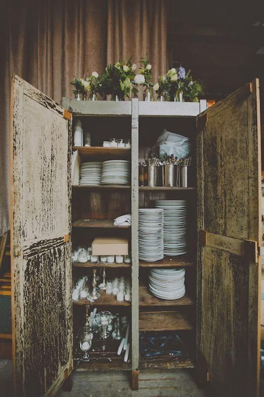 armario vintage casa en el campo