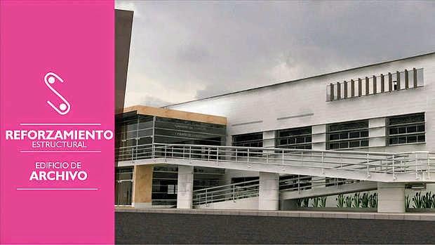 Edificio Archivo Central e Histórico Campus UNAL Sede Bogotá