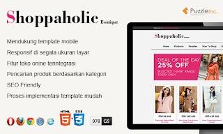 Template Shoppaholic