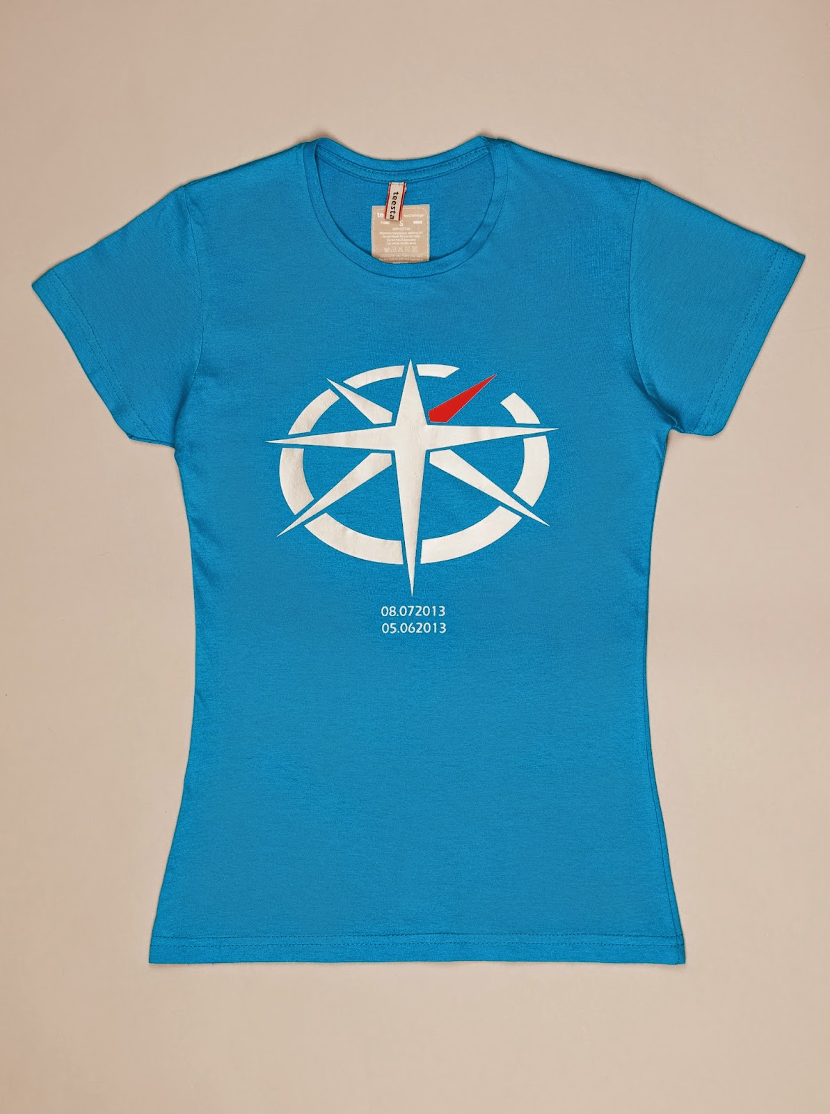 TShirt Limited Edition B Blue Aqua