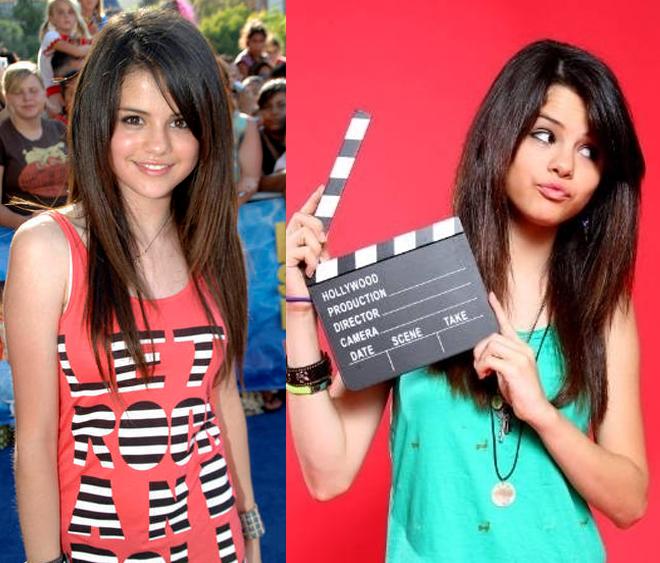 Selena Gomez 15 anos