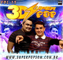 Cd Super Pop 3D vol. 13