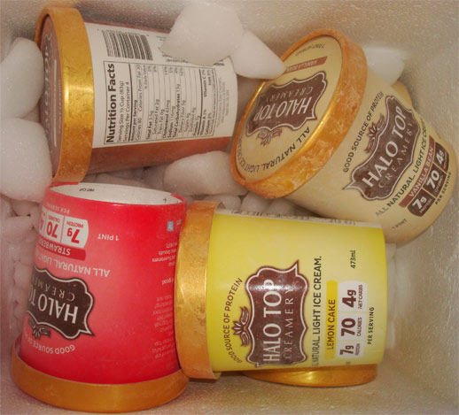 Halo Top All Natural Light Ice Cream