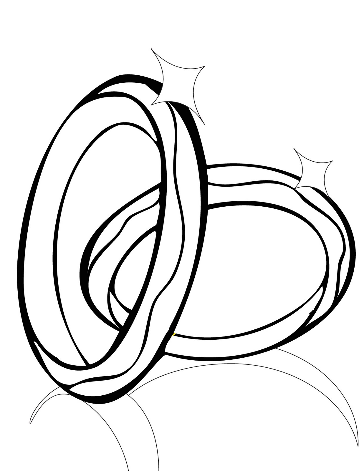 coloring pages of rings - photo#16