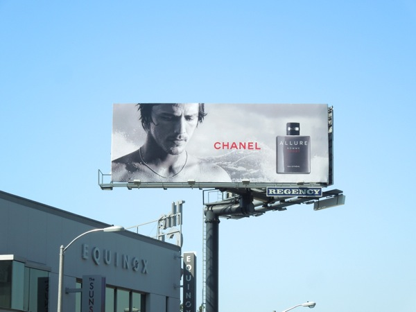 Chanel Allure Homme Sport fragrance billboard