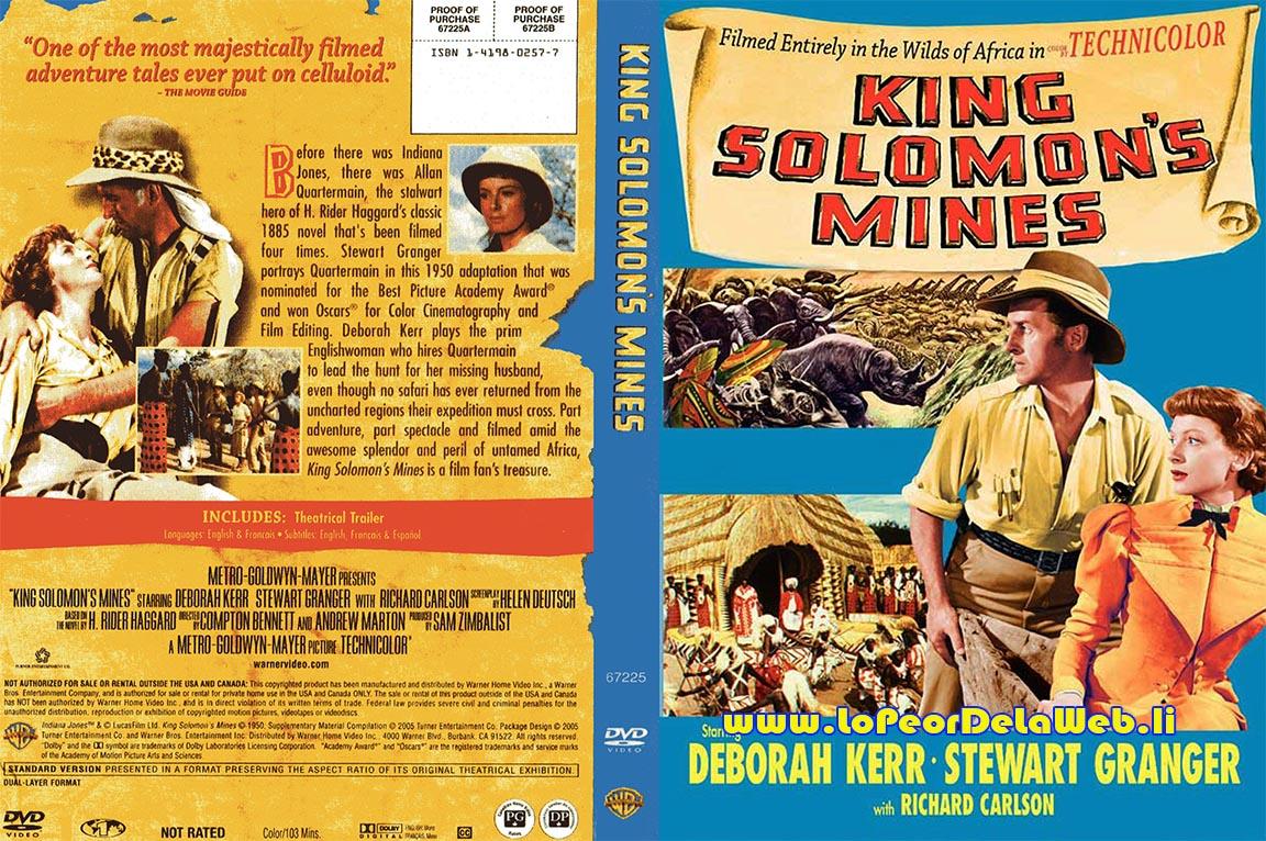 Las Minas del Rey Salomón (1950 / Deborah Kerr / S. Granger)