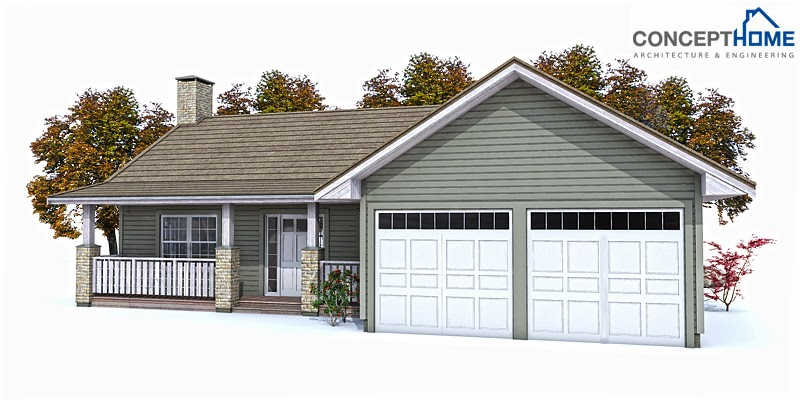 Affordable Modern House Plans Affordable Home Plans Modern House Plan Ch146