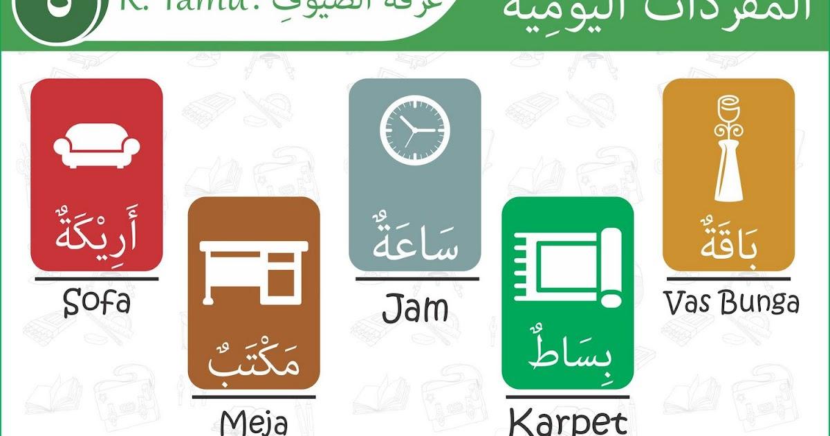 Kosakata Harian Bahasa Arab  Rumah Dan Ruangan Tamu Tutorial Bahasa Arab