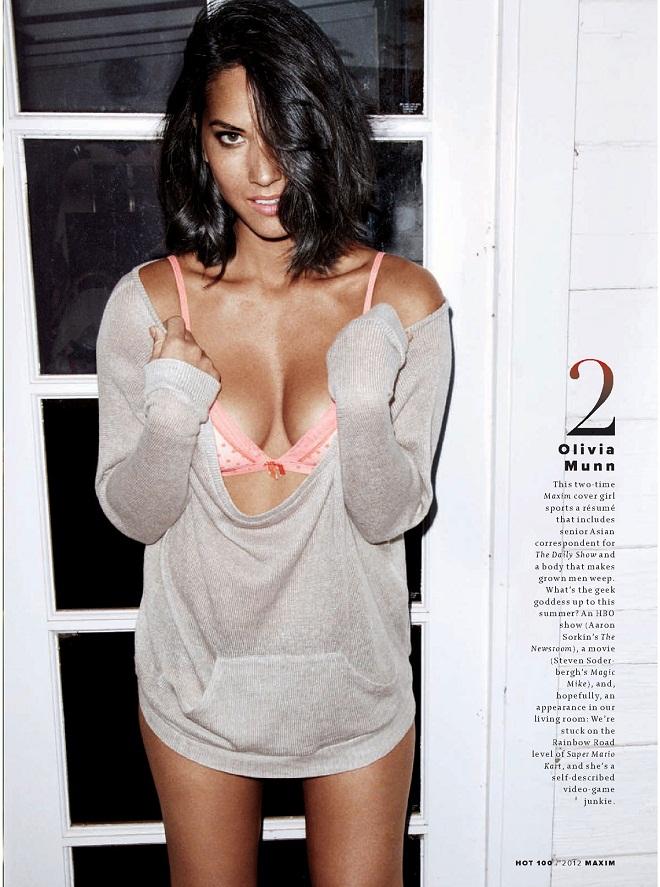 Maxim Hot 100 2012 - OLIVIA MUNN
