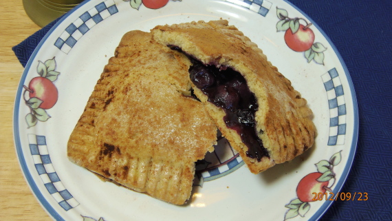 Blueberry Borwn Butter Hand Pies Recipe