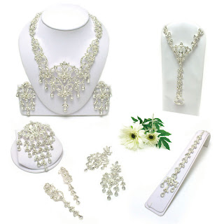 Kyles Collection Lolita Bridal Set