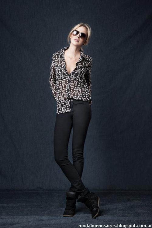 Camsas y blusas Wupper otoño invierno 2014.