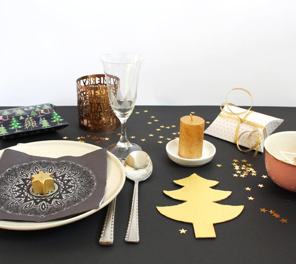 Bien tomber weihnachtsdeko in gold und diy weihnachtskarten - Weihnachtsbaumkugeln selbst gestalten ...