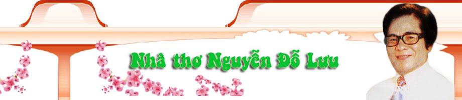 Nhà thơ Nguyễn Đỗ Lưu