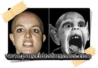 Britney Spears con Bat Boy