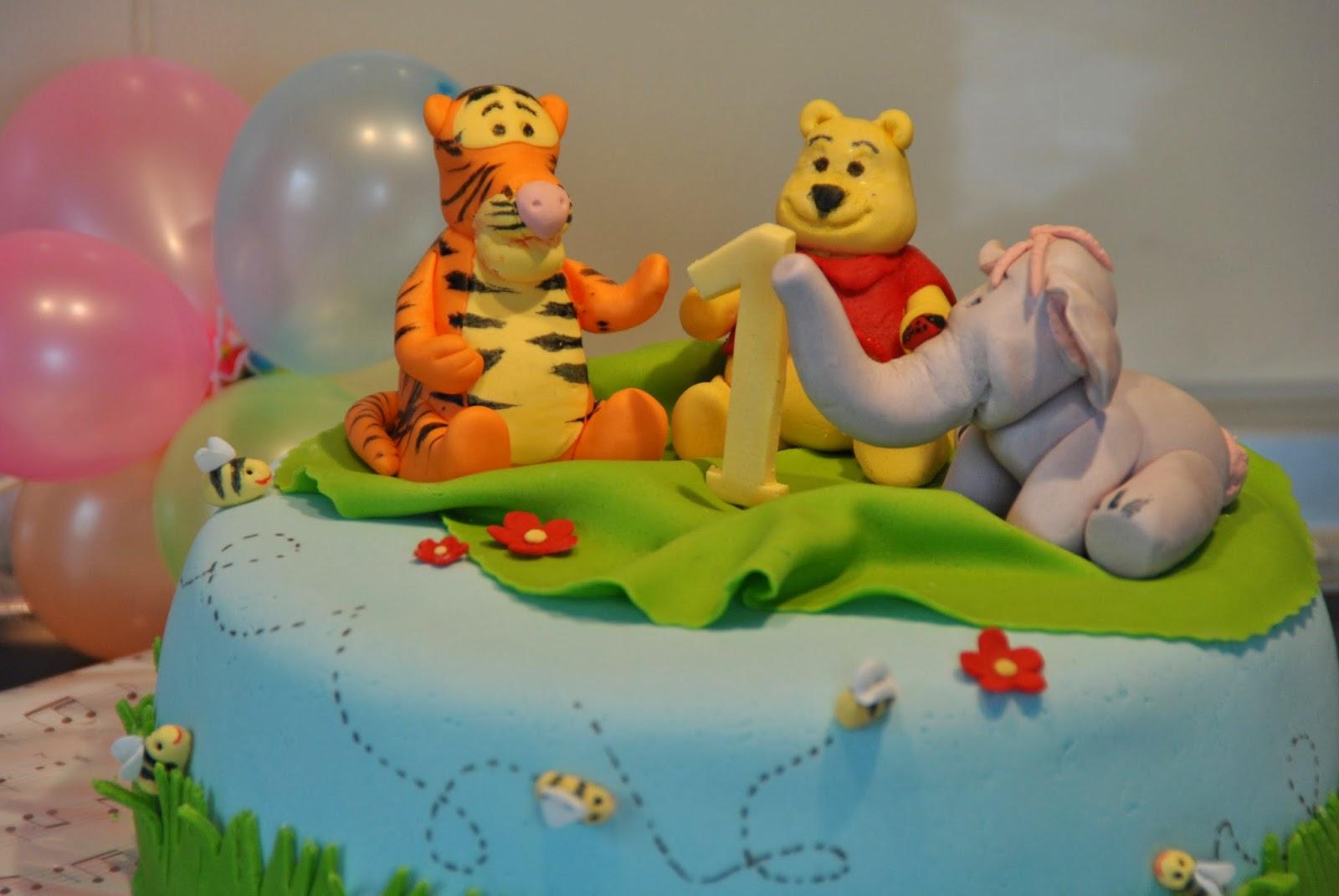 Calina\'S Torten: Winnie Pooh Torte