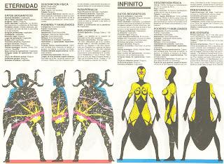 Eternidad e Infinito (ficha marvel comics)