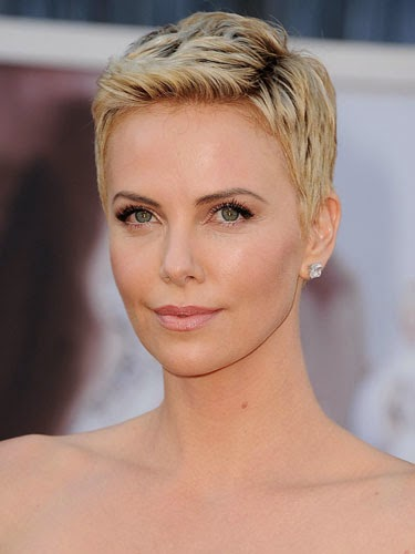 cute short hairstyles charlize theron lgn