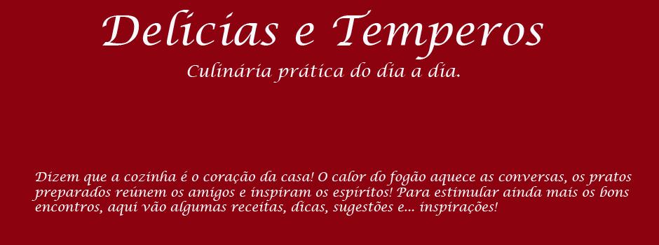 Blog Delícias & Temperos