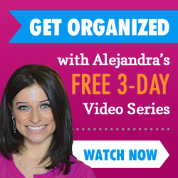 Alejandra TV | OrganizingMadeFun.com