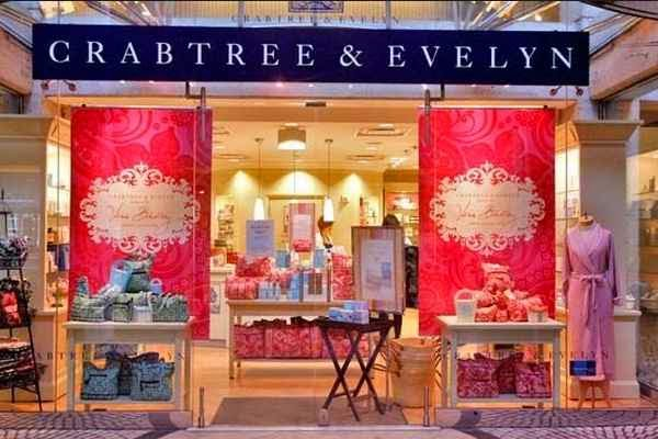 Retail shop of Crabtree & Evelyn