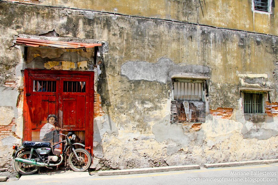 Hunting for street art in penang day 7 in malaysia for Mural 1 malaysia