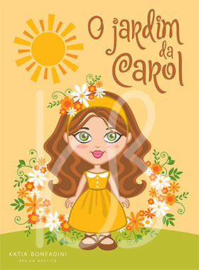O jardim da Carol: ilustração + papelaria de festa