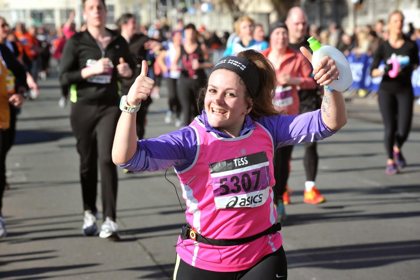 Brighton Half Marathon 2014 PB