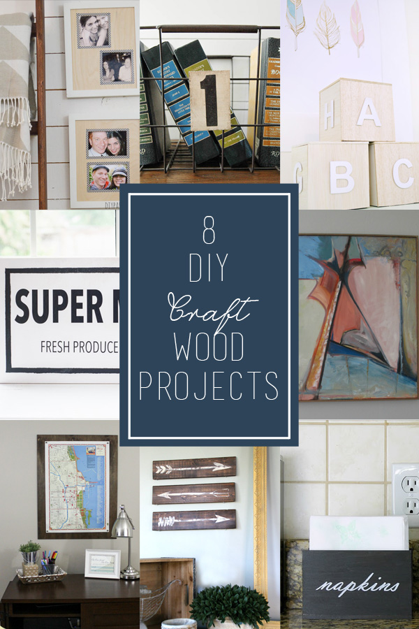 8 amazing craft wood projects
