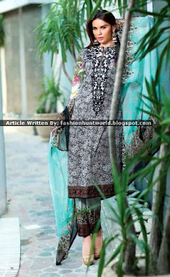 Ayesha Chottani Eid 2015 Collection By Shariq Textile