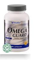 OmegaGuard Shaklee turunkan kadar kolestrol