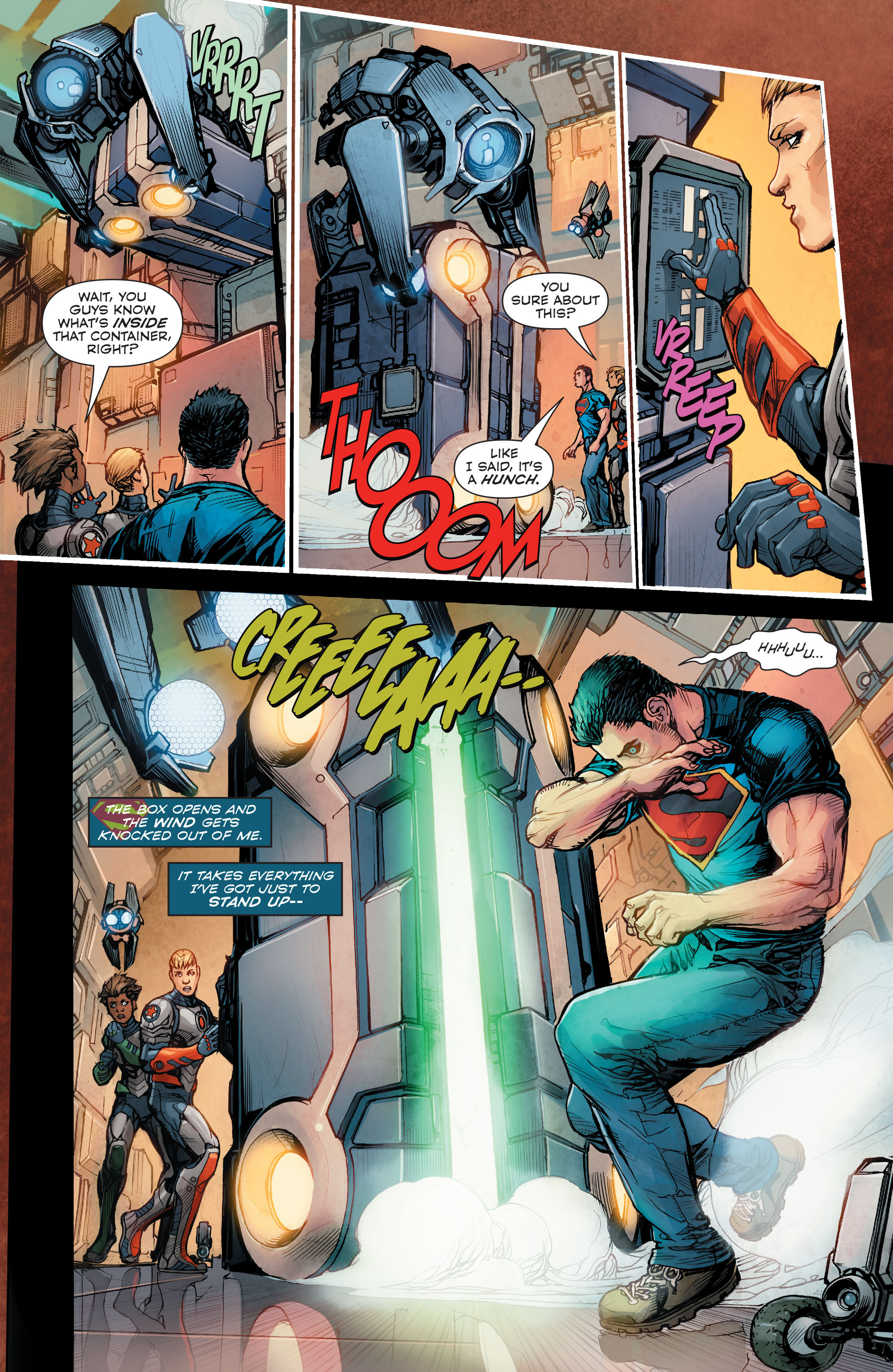 Read online Superman (2011) comic -  Issue #48 - 17