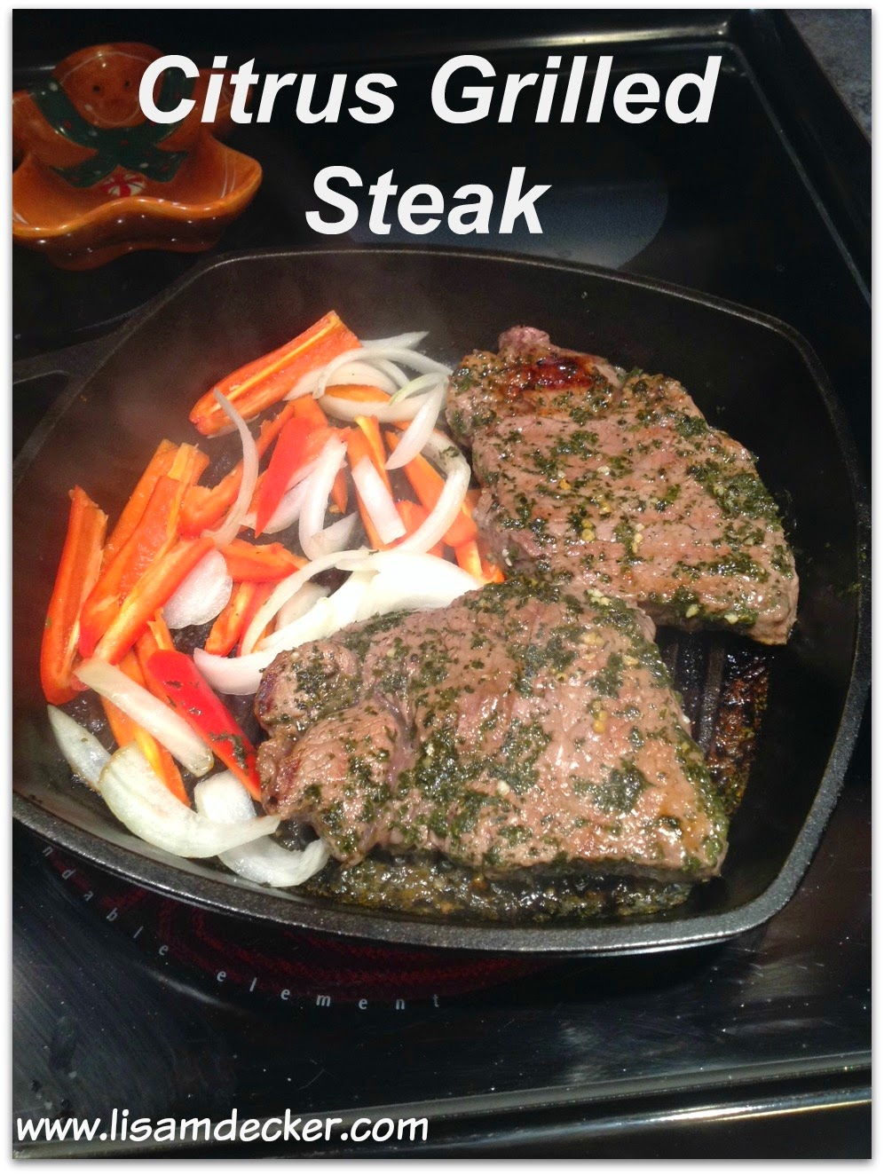 Insanity Max 30 Nutrition Guide, Citrus Grilled Steak