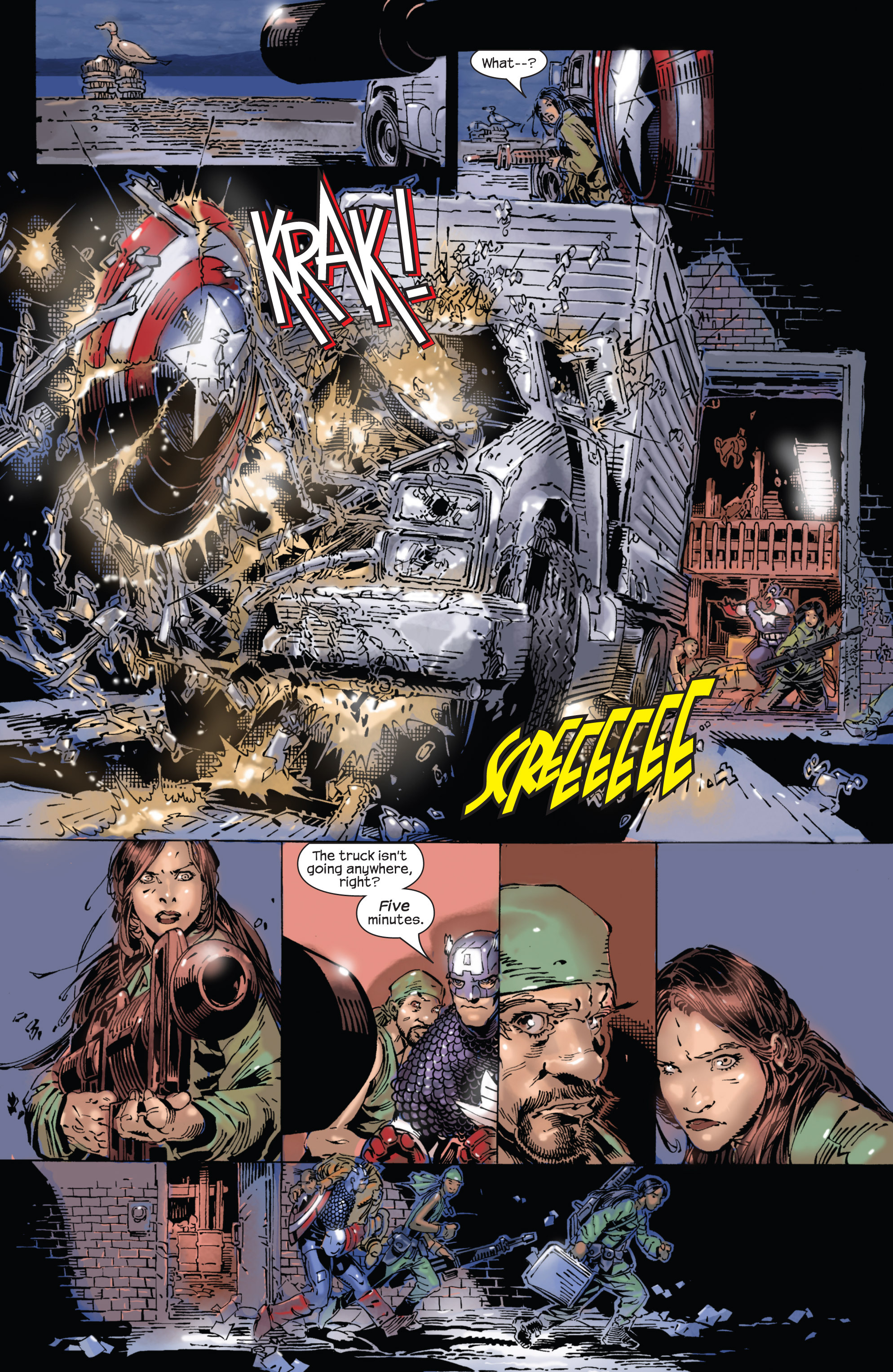 Captain America (2002) Issue #25 #26 - English 5